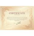 Certificate 3 vector image