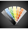 Color fan Background vector image