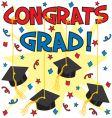 congrats grad vector image vector image