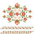 elegant motifs vector image vector image