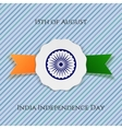 india independence day patriotic badge vector image vector image