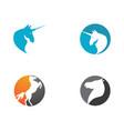 pegasus icon vector image vector image