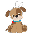 Puppy Toothache vector image vector image