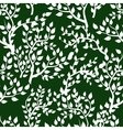 Seamless background with tree leafs vector image vector image