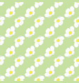 strawberry blossom seamless floral pattern vector image vector image