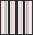 vertical black and pink stripes print vector image