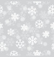 winter christmas new year seamless pattern vector image