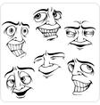 Positive emotions - set vector image