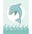 Animal series Dolphin vector image