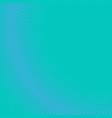 blue halftone dotted pattern background design vector image vector image