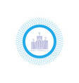 crown king leadership monarchy royal glyph icon vector image vector image