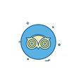 media network social tripadvisor icon design vector image