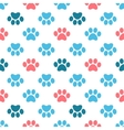 Paw Print seamless pattern vector image