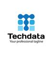 Techdata Design vector image vector image