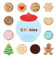 cookiejar vector image