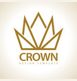 crown royal icon vector image vector image