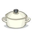 digital painting doodle pan vector image vector image