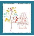 love message design vector image vector image