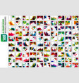 mega collection of 100 business annual report vector image vector image
