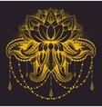 ornamental Lotus vector image