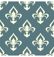 Seamless floral pattern with arabesque element vector image vector image