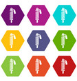 shock absorber icons set 9