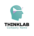 Think lab Design vector image vector image