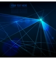 Abstract laser lights background vector image