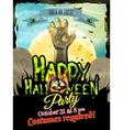 Halloween poster background EPS 10 vector image