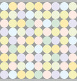abstract seamless pattern with colorful dots vector image