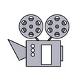 cinema projector isolated icon vector image vector image