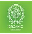 logo organic 04 vector image vector image