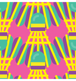 Seamless Badminton Pattern vector image vector image