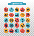 web icons set - construction and home repair tools vector image vector image