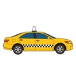 car taxi vector image