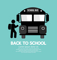 Back To School Graphic Symbol vector image