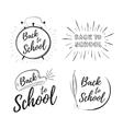 Children education background vector image vector image