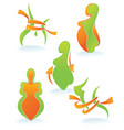 diet and body vector image vector image