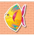 Fancy fish vector image vector image