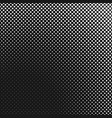 monochrome simple halftone square background vector image vector image