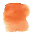 orange watercolor gradient background vector image vector image