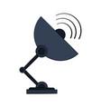 satellite dish icon image vector image vector image