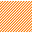 seamless pattern with orange and white diagonal vector image vector image