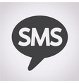 sms icon vector image