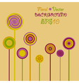 Abstract Flower Glade vector image