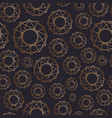abstract seamless pattern with geometric shapes vector image