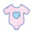 baby clothes that used in the body vector image vector image
