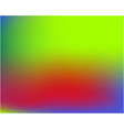 bright blurred graphics from various combinations vector image vector image