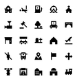 City Elements Icons 4 vector image vector image