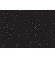 huge clusters stars in dark sky black vector image